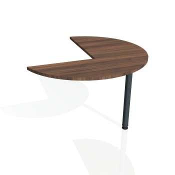 Přídavný stůl Hobis FLEX FP 22 levý, ořech/kov