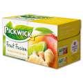 Ovocný čaj Pickwick - mango, limeta a zázvor, 20x 2 g