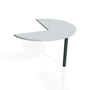 Přídavný stůl Hobis FLEX FP 22 levý, šedá/kov