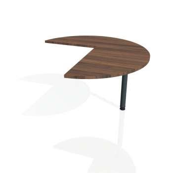 Přídavný stůl Hobis FLEX FP 22 pravý, ořech/kov