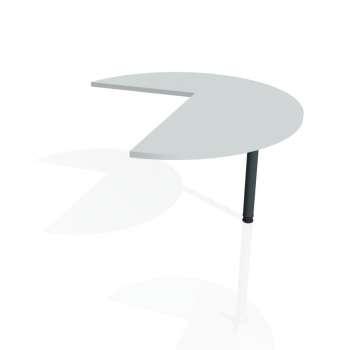Přídavný stůl Hobis FLEX FP 22 pravý, šedá/kov