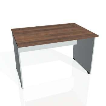 Psací stůl Hobis GATE GS 1200, ořech/šedá