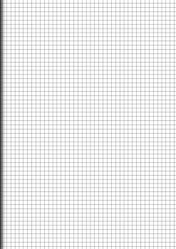 Papír, samostatné listy A3 čtverečkované, 200 listů
