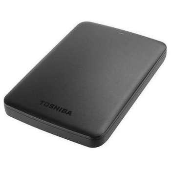 """Externí harddisk Toshiba Canvio Basic 2.5"""" - 1 TB, černá"""