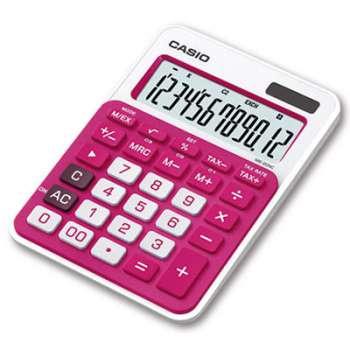 Stolní kalkulačka Casio MS-20NC  - růžová