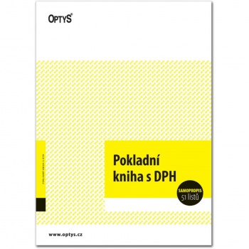 Kniha pokladní s DPH