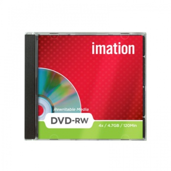 DVD-RW Imation, standard box 10 ks