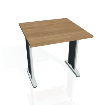 Jednací stůl Hobis FLEX FJ 800, višeň/kov