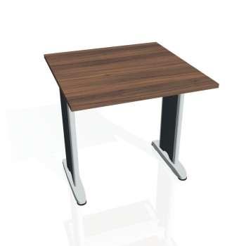 Jednací stůl Hobis FLEX FJ 800, ořech/kov