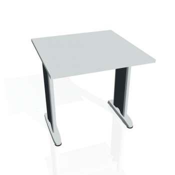 Jednací stůl Hobis FLEX FJ 800, šedá/kov