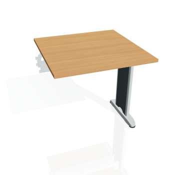 Jednací stůl Hobis FLEX FJ 800 R, buk/kov