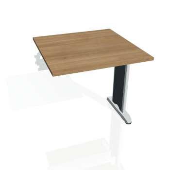 Jednací stůl Hobis FLEX FJ 800 R, višeň/kov