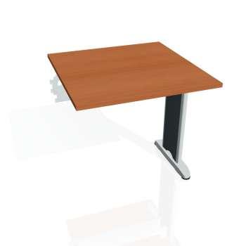 Jednací stůl Hobis FLEX FJ 800 R, třešeň/kov