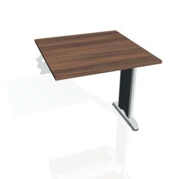 Jednací stůl Hobis FLEX FJ 800 R, ořech/kov