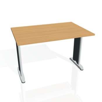 Jednací stůl Hobis FLEX FJ 1200, buk/kov