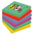 Samolepicí bločky Post-it Super Sticky Marrákeš - 5 barev