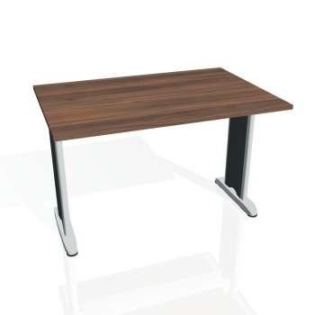 Jednací stůl Hobis FLEX FJ 1200, ořech/kov