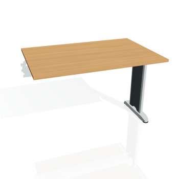 Jednací stůl Hobis FLEX FJ 1200 R, buk/kov