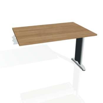 Jednací stůl Hobis FLEX FJ 1200 R, višeň/kov