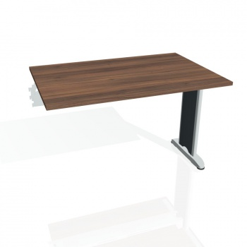 Jednací stůl Hobis FLEX FJ 1200 R, ořech/kov
