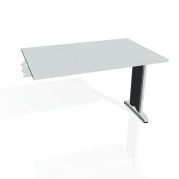 Jednací stůl Hobis FLEX FJ 1200 R, šedá/kov