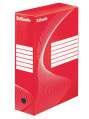 Archivační krabice Esselte, 10,0 x 34,5 x 24,5 cm, červená