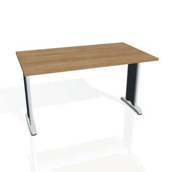 Jednací stůl Hobis FLEX FJ 1400, višeň/kov
