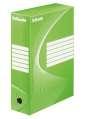 Archivační krabice Esselte, 10,0 x 34,5 x 24,5 cm, zelená