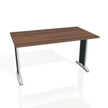 Jednací stůl Hobis FLEX FJ 1400, ořech/kov