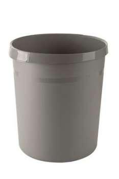 Odpadkový koš Office Depot - plastový, šedý, objem 18 l