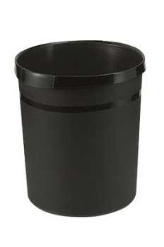 Odpadkový koš Office Depot - plastový, černý, objem 18 l