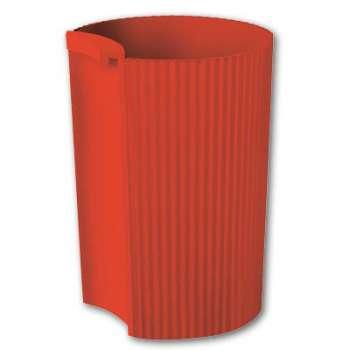 Kalíšek na tužky Office Depot - plastový, červený