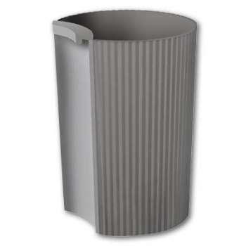 Kalíšek na tužky Office Depot - plastový, šedý