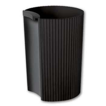 Kalíšek na tužky Office Depot - plastový, černá