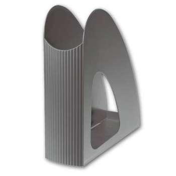 Stojan na časopisy Office Depot - plastový,šedý