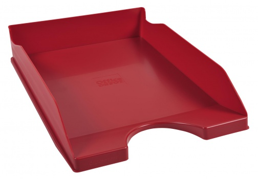 Zásuvka Office Depot - A4, plastová, červená