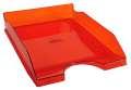 Zásuvka Office Depot - A4, plastová, transparentní, červená