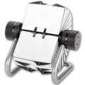 Otočný vizitkář Office Depot - 200 pouzder, stříbrný