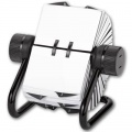 Otočný vizitkář Office Depot - 500 popisovatelných karet, černá