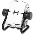 Otočný vizitkář Office Depot - 500 popisovatelných karet, černý
