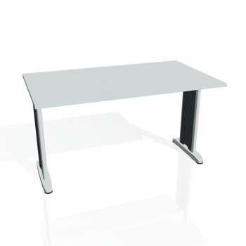 Jednací stůl Hobis FLEX FJ 1400, šedá/kov