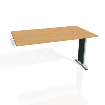 Jednací stůl Hobis FLEX FJ 1400 R, buk/kov