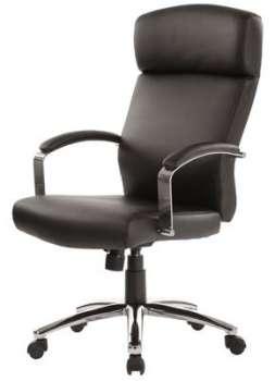 Kancelářské křeslo RS Akris - černá, kůže
