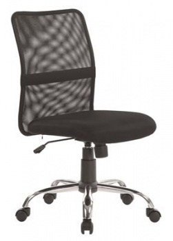 Kancelářská židle Niceday Ness - bez područek, černá