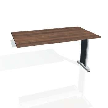 Jednací stůl Hobis FLEX FJ 1400 R, ořech/kov