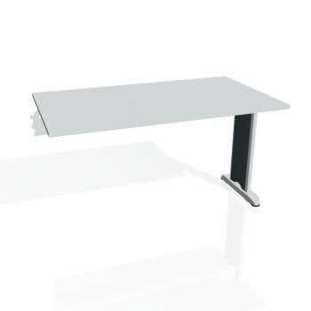 Jednací stůl Hobis FLEX FJ 1400 R, šedá/kov