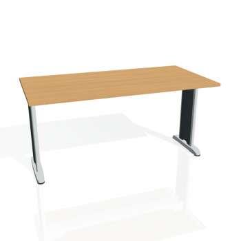 Jednací stůl Hobis FLEX FJ 1600, buk/kov