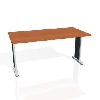 Jednací stůl Hobis FLEX FJ 1600, třešeň/kov
