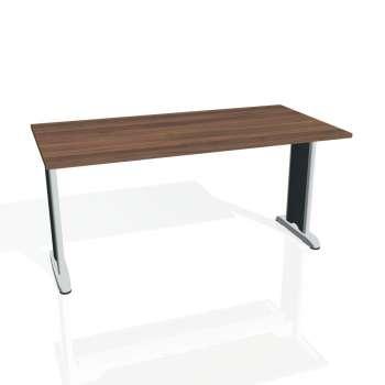 Jednací stůl Hobis FLEX FJ 1600, ořech/kov
