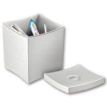 Plastová krabička CEP na čajové pytlíky - šedá